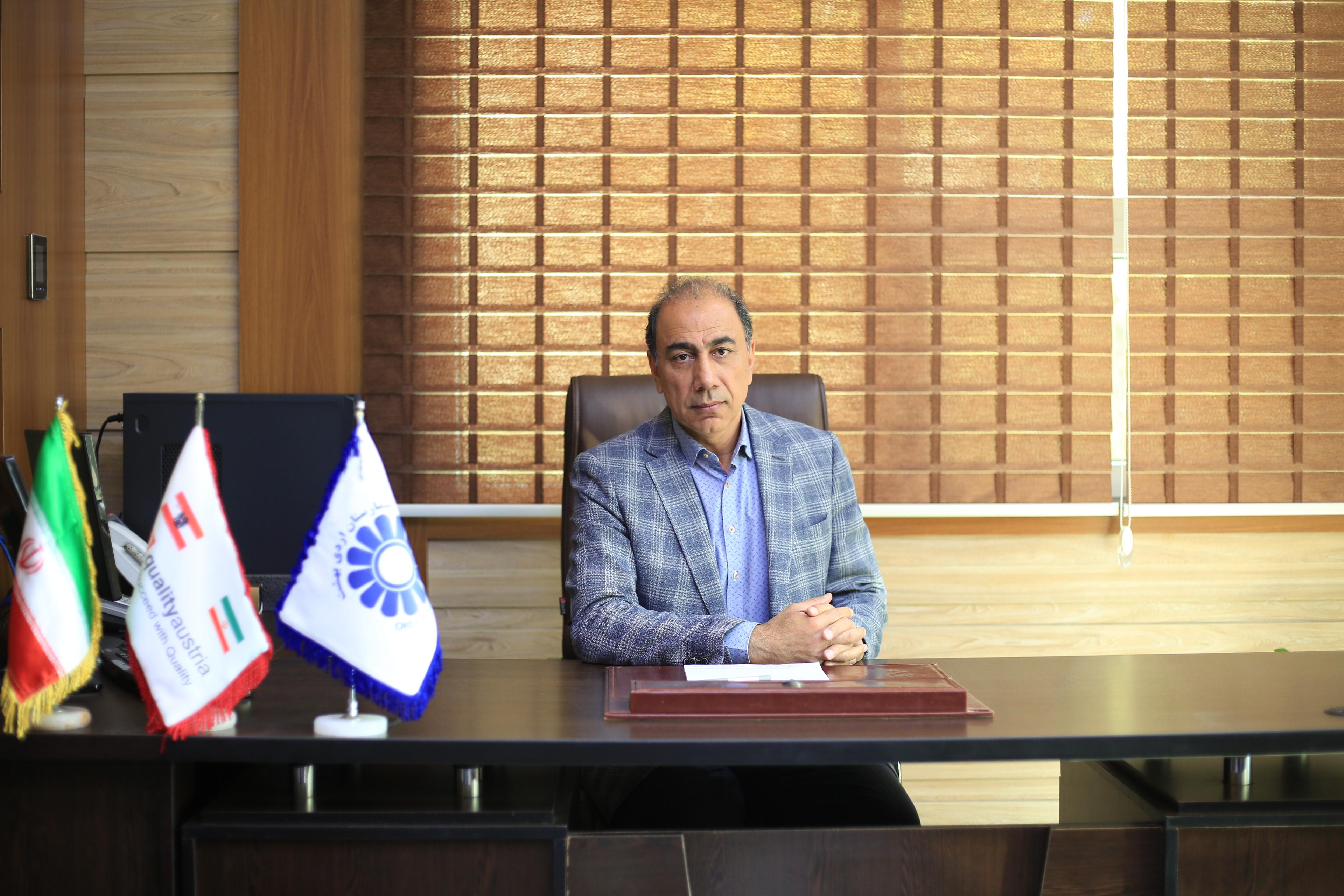 دکتر سید کاظم چابک - پیام مدیرعامل بیمارستان اردیبهشت